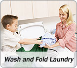 Wash and Fold Laundry